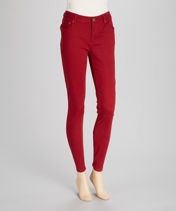 Red Jeggings
