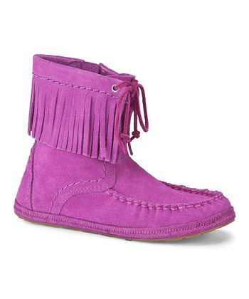 Cactus Flower Kyleigh Boot - Kids