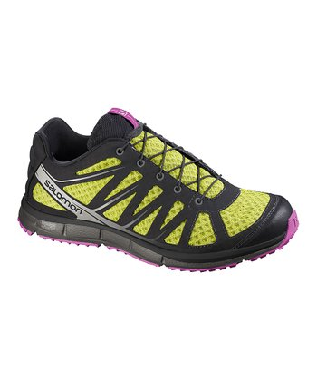 Green & Black Kalalau Organic Trail Running Shoe - Women