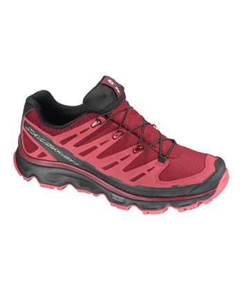 Burgundy & Papaya Synapse CS WP™ All-Terrain Shoe - Women