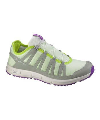 Green Tea & Clay Kowloon Trail Running Shoe - Women