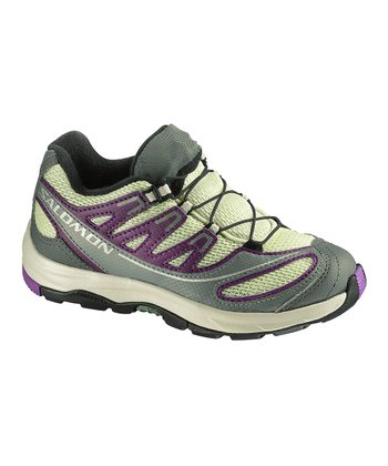Green Tea & Purple XA Pro 2 Trail Running Shoe - Kids