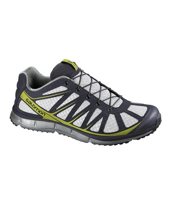 Light Gray & Deep Blue Kalalau Trail Running Shoe - Men