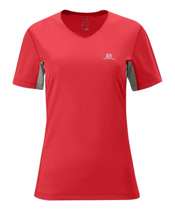 Papaya Titanium Trail Top - Women