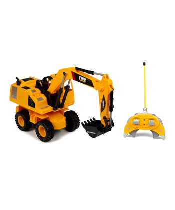 King Force Wheeled Remote Control Excavator