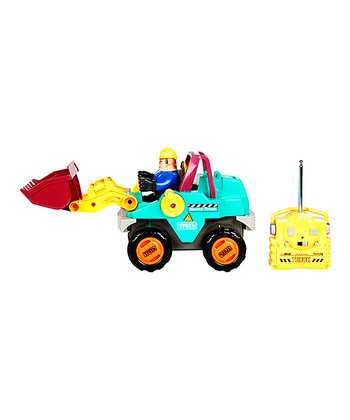 Mighty Movers Remote Control Shovel Truck