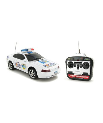 Race Max Police Ford Mustang Remote Control Car