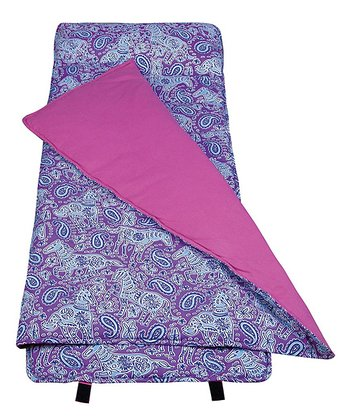 Purple Ponies Nap Mat