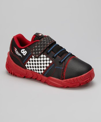 Black & Red Checker Sneaker