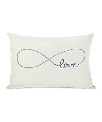 Infinite 'Love' Throw Pillow
