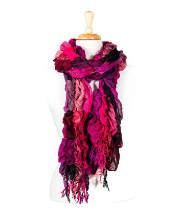 Pink Bubble Scarf