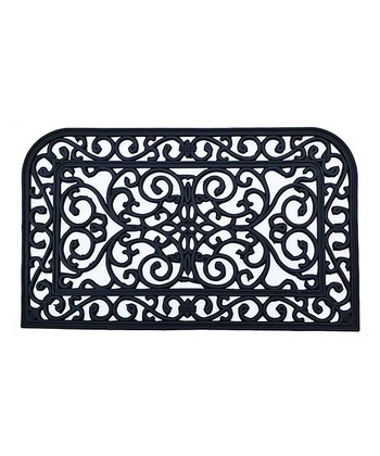 Black Monarch Doormat