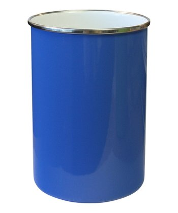 Azure Steel Utensil Holder