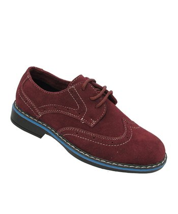 Burgundy Dress Shoe