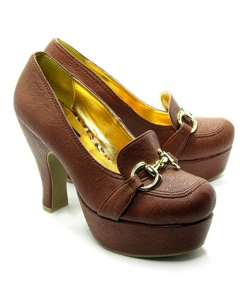 Luggage Patricia Platform Oxford Pump