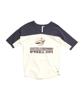 Off-White & Navy '1962' Daydreamer Top