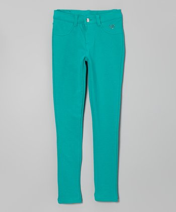 Emerald Heart Jeggings