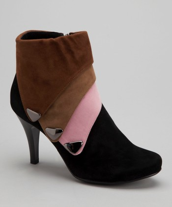 Black Lilly Bootie