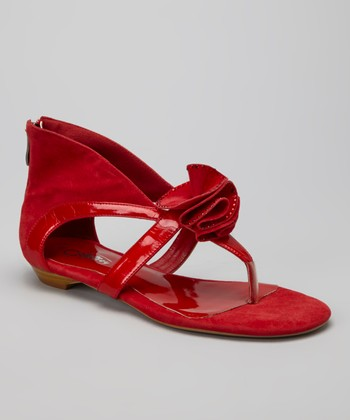 Red Pea Sandal