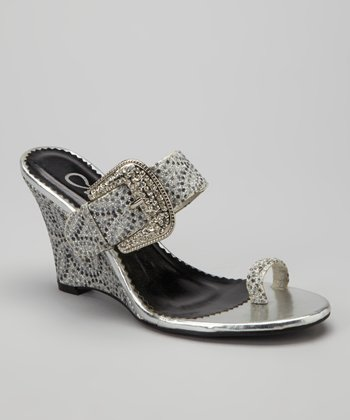 Silver Royal Wedge