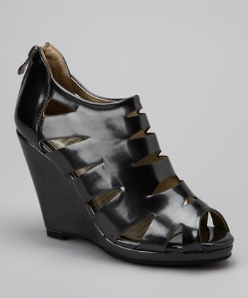 Pewter Venice Cutout Wedge