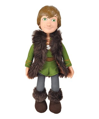 Brown & Green Hiccup Plush Doll