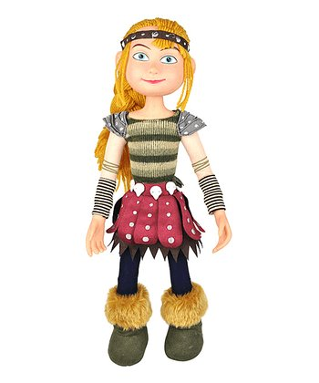Green & Red Astrid Plush Doll
