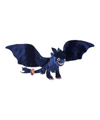 Black Night Fury Plush Toy