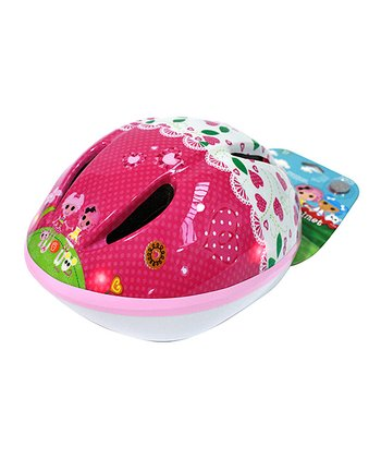 Pink Lalaloopsy Flashing Lights Helmet