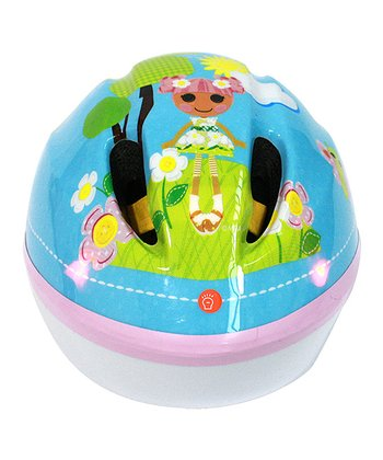 Blue Lalaloopsy Flashing Lights Helmet