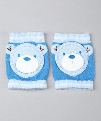 Skidders Cute Bear Gripper Knee Pads