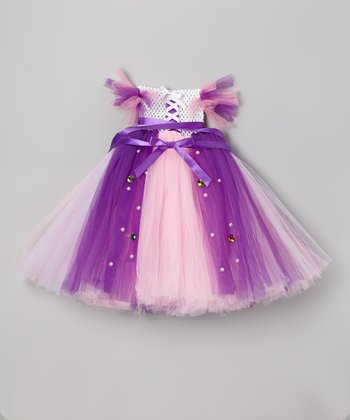 Pink Pretty Princess Tutu Dress - Infant & Girls