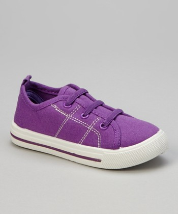 Purple Stitch Sneaker