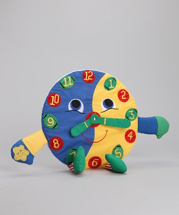 Clock Plush Toy