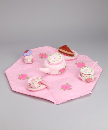 Tea Party Plush Set