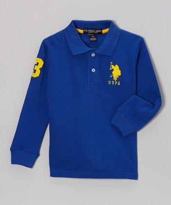 Cobalt Polo - Toddler