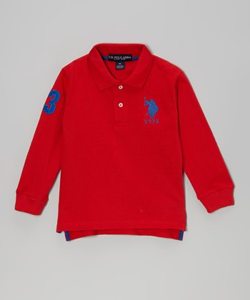 Red Polo - Toddler