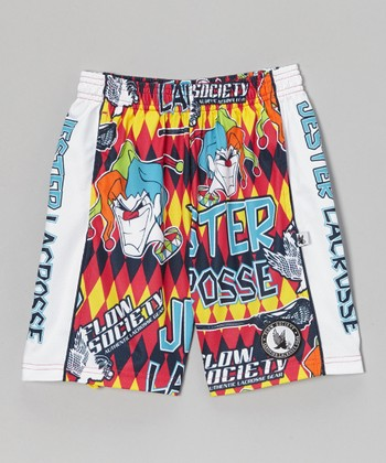 Red Jester Lacrosse Shorts - Kids