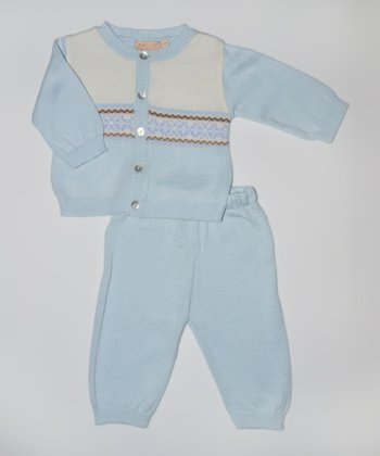 Blue Cardigan & Pants - Infant