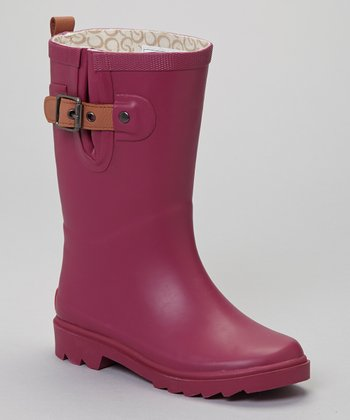 Berry Rain Boot