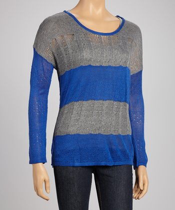 Royal Loose Cable Knit Sweater