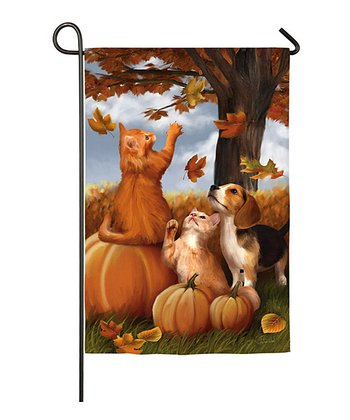 Fall Fun Garden Flag