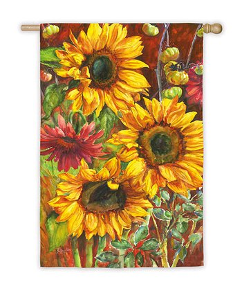 Large Sunflowers Flag