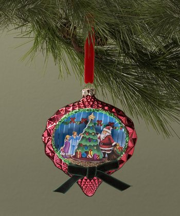 Santa Christmas Tree Ornament
