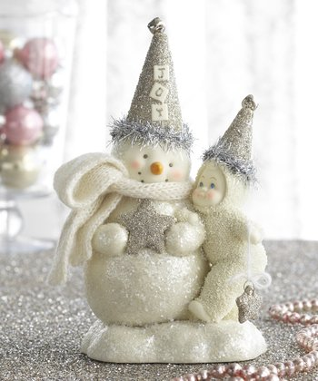Joy Snowman Figurine