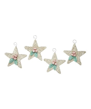 Star Ornament - Set of Four