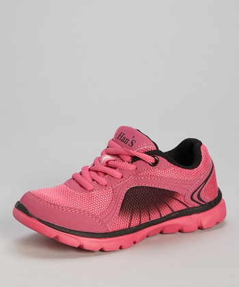 Hot Pink & Black Sneaker