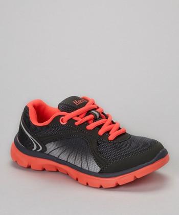 Global Max Gray & Coral Sneaker