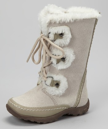 White Daffodil Boot