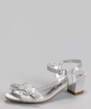 Silver Elena Sandal